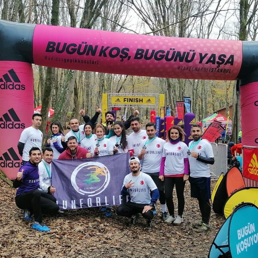 Adidas Geyik Koşuları, İstanbul, Ekim 2018