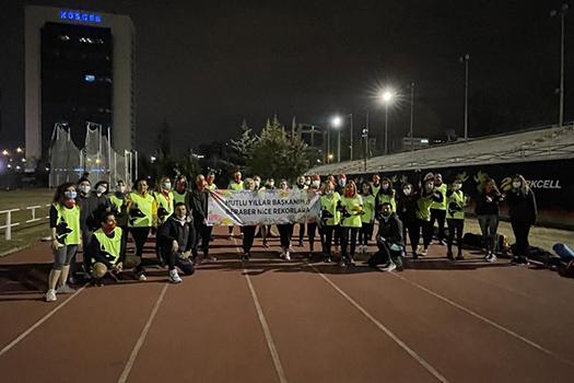 Efes Ultra Maratonu için son antrenmanımızı tamamladık